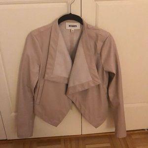 BB Dakota blush leather jacket